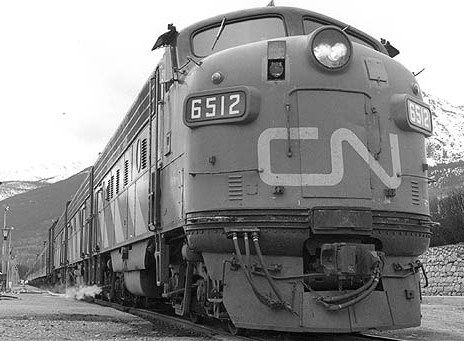 CANADIAN NATIONAL 6512 PHOTO ROBERTO MORRIS